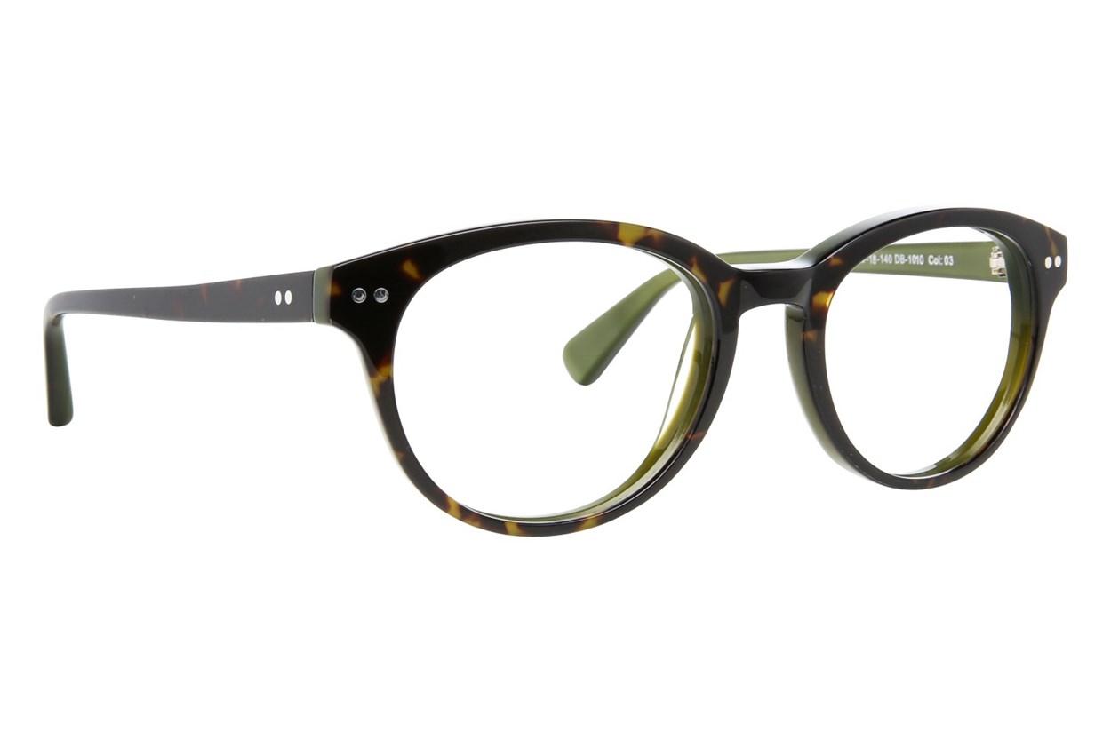 Blakened DB1010 Tortoise Eyeglasses