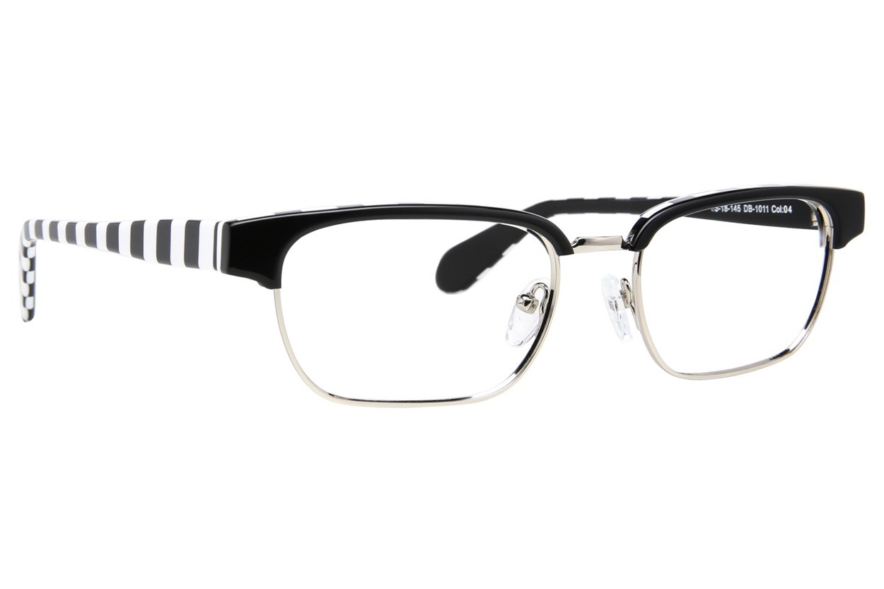Blakened DB1011 Black Eyeglasses