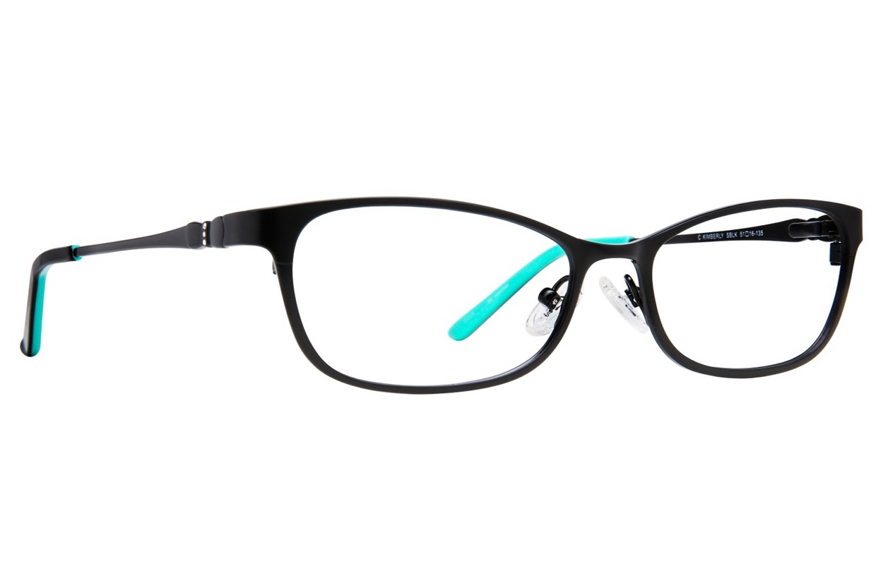 Candie's Kimberly Black Eyeglasses