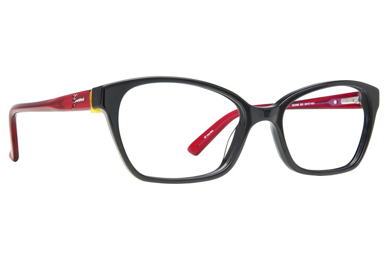 GUESS GU 2466 Black Eyeglasses