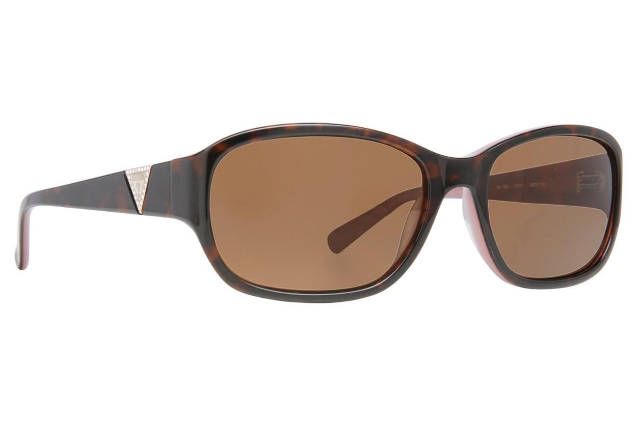 GUESS GU 7265 Pink Sunglasses