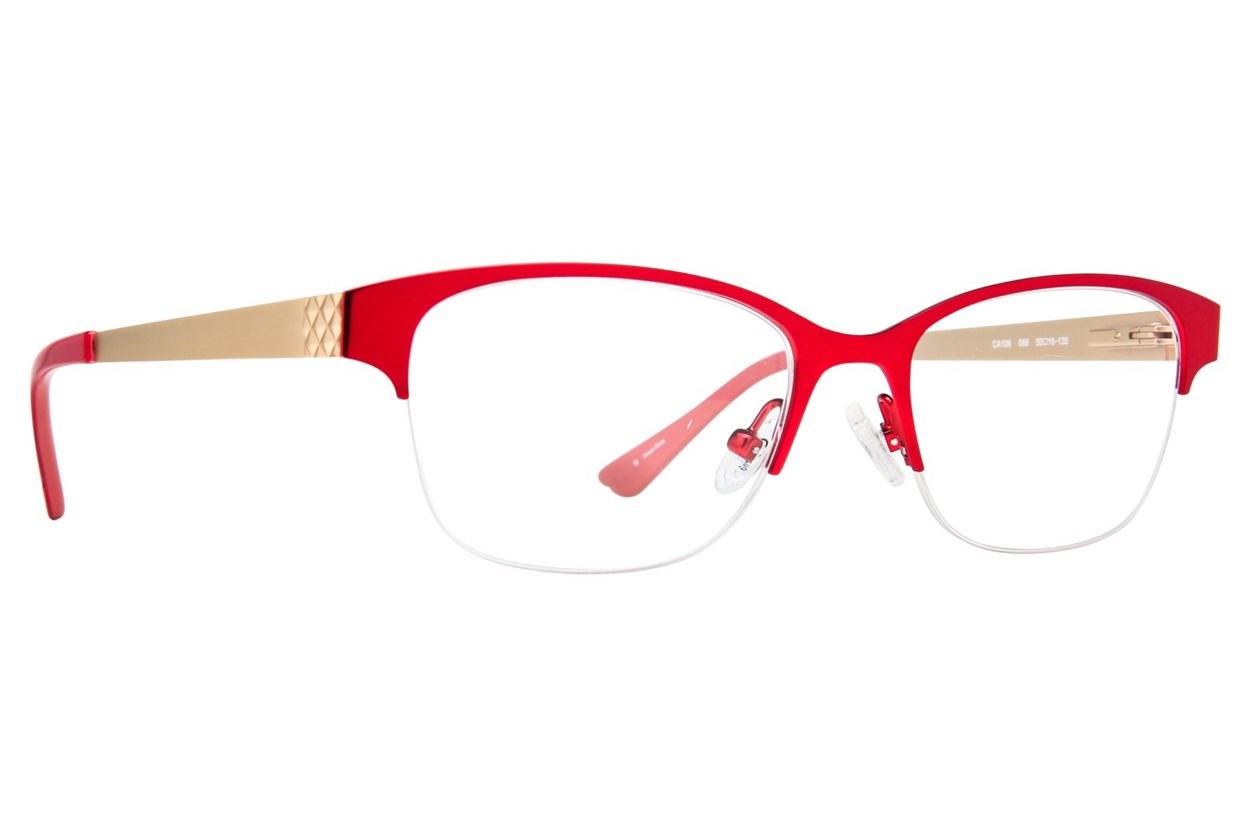 Candie's CA106 Red Eyeglasses