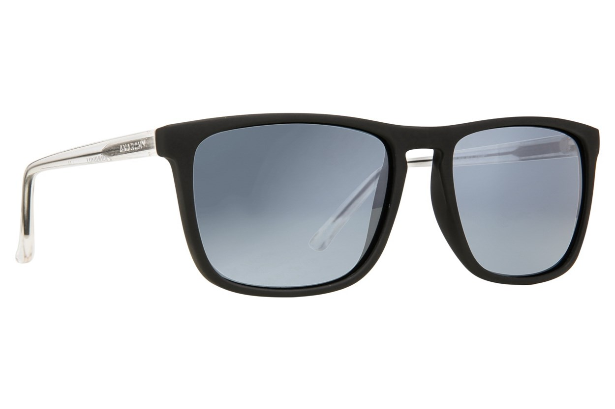 Anarchy Ricochet Polarized Black Sunglasses