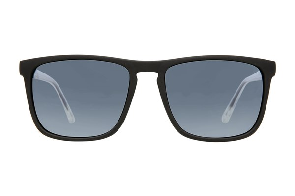 Anarchy Ricochet Polarized Sunglasses - Black