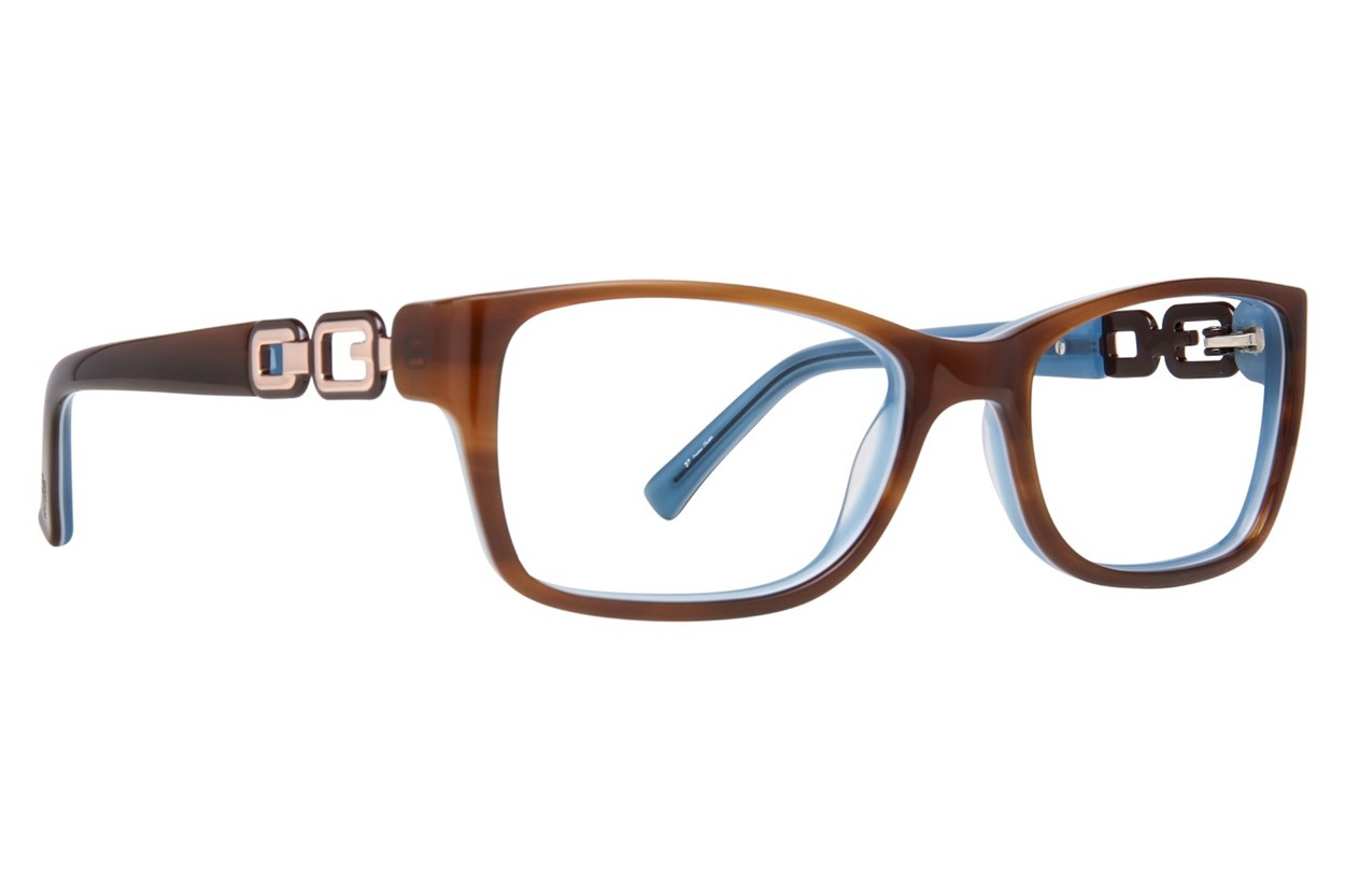GUESS GU 2406 Brown Eyeglasses