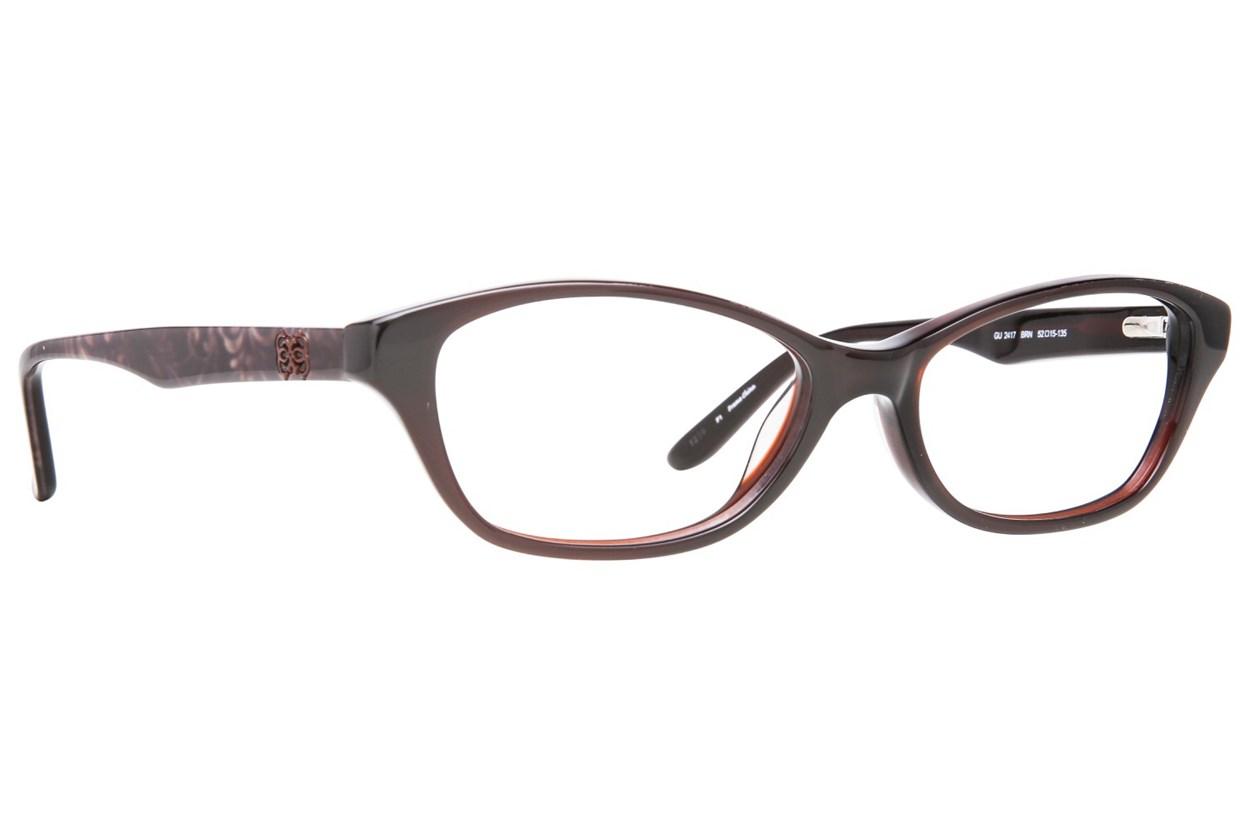 GUESS GU 2417 Brown Eyeglasses
