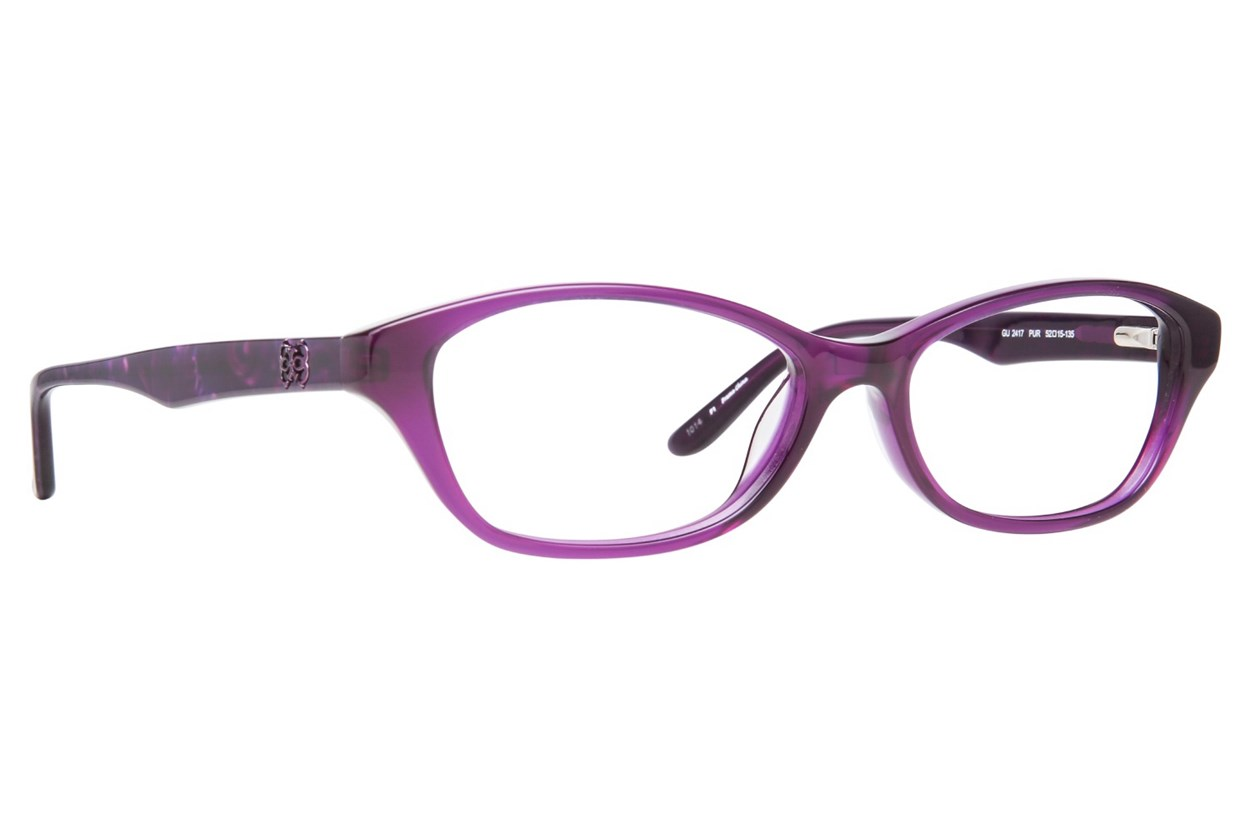 GUESS GU 2417 Purple Eyeglasses