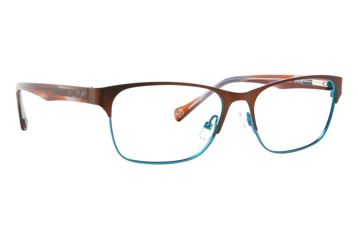 Lucky D101 Brown Eyeglasses