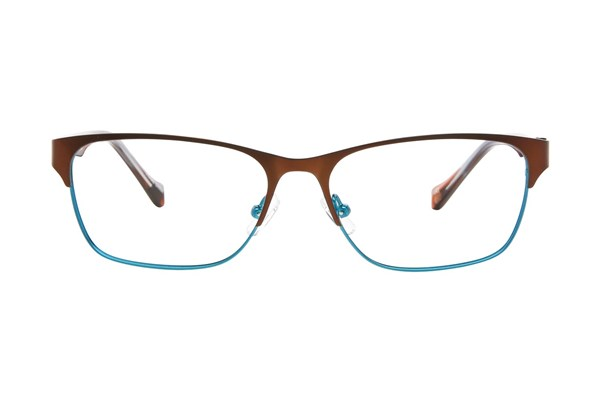 Lucky D101 Eyeglasses - Brown