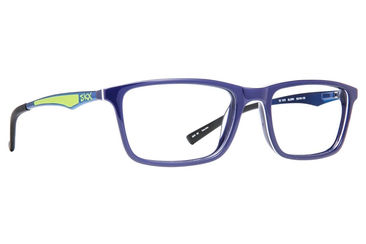 Skechers SE 1078 Blue Eyeglasses