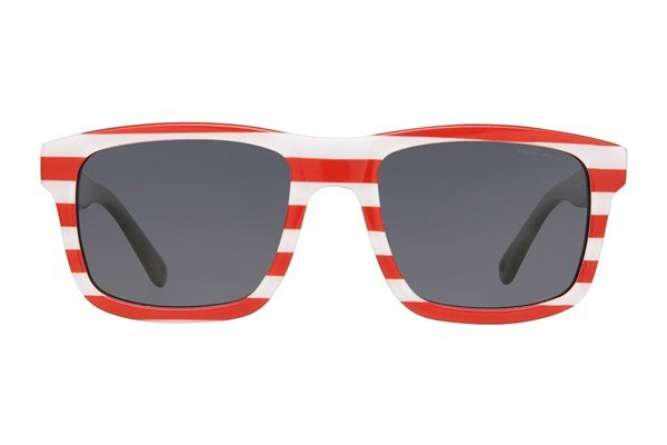 Zoobug Square (Age 6-12) Red Sunglasses