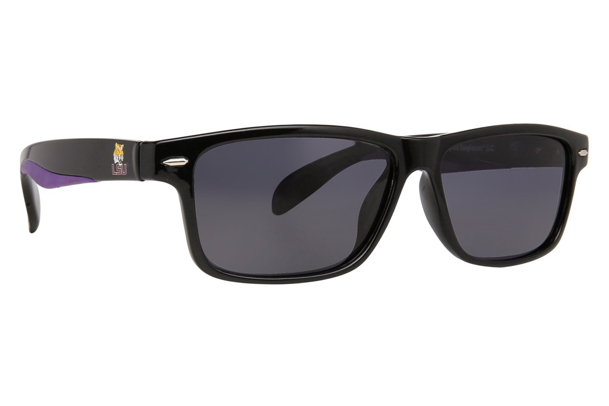 NCAA LSU Tigers Preppy Sunglasses - Black
