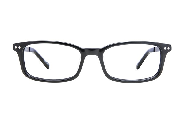 Lucky D800 Eyeglasses - Black