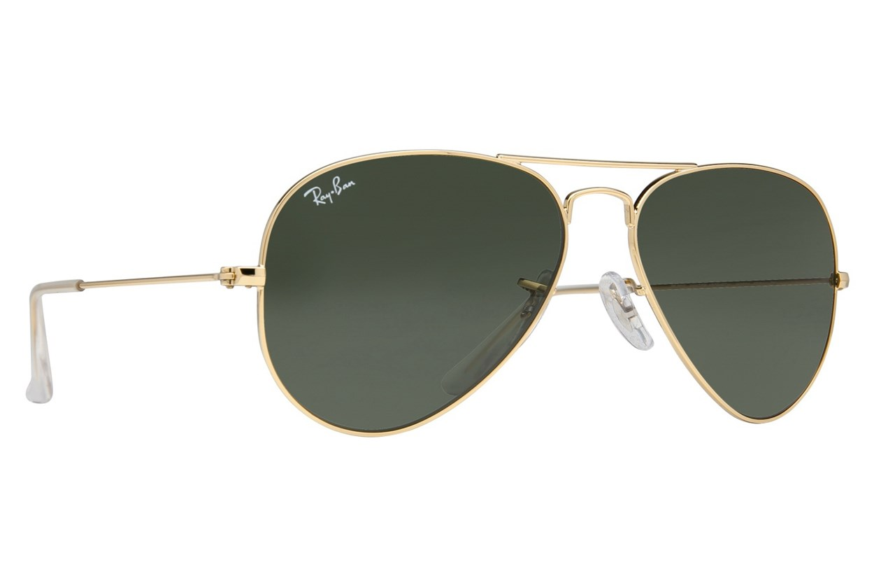 Ray-Ban® RB 3025 55 Gold Sunglasses