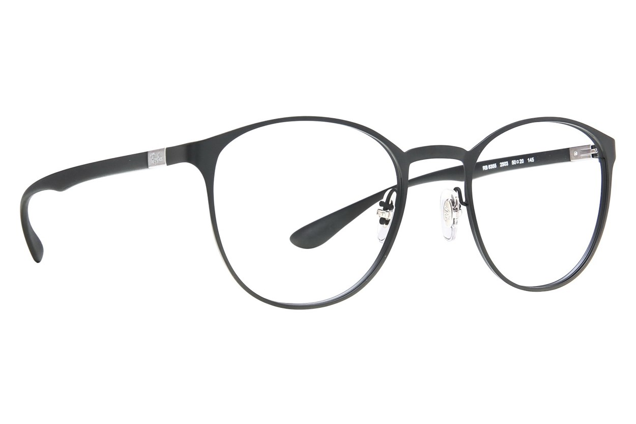Ray-Ban® RX6355 Black Eyeglasses