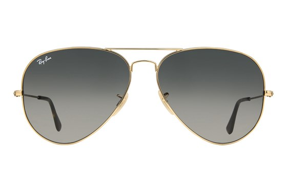 Ray-Ban® RB3025 62 Gold Sunglasses