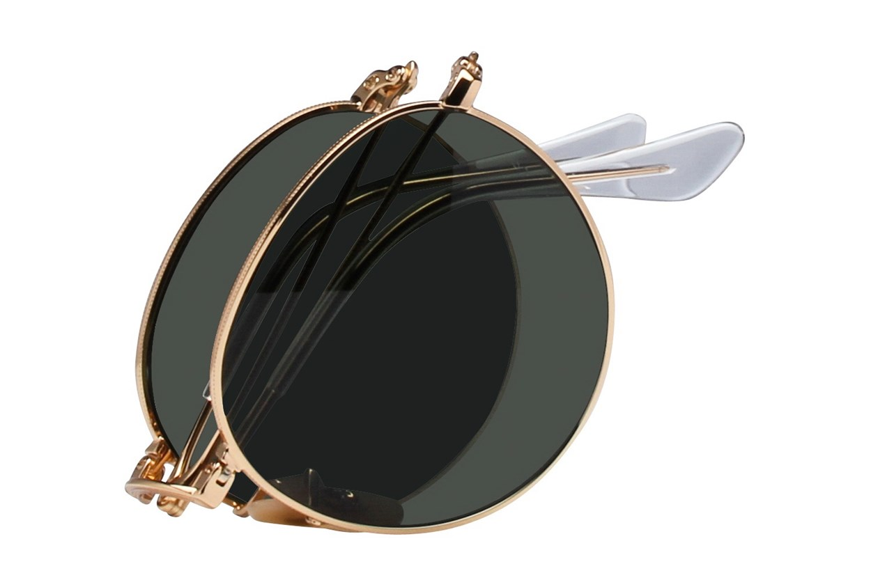 Alternate Image 1 - Ray-Ban® RB3532 Gold Sunglasses
