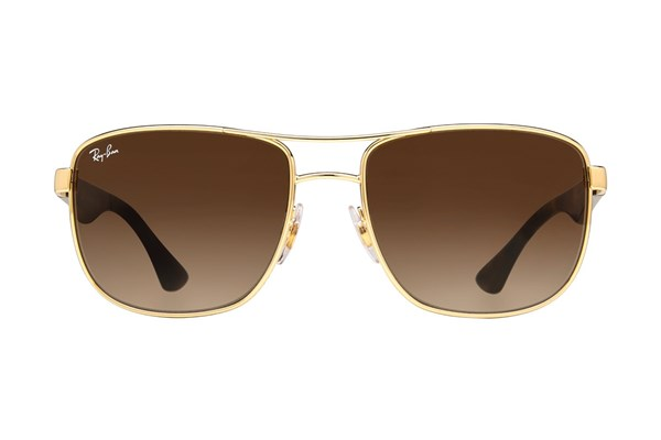 Ray-Ban® RB3533 Sunglasses - Gold
