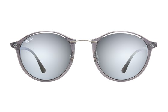 Ray-Ban® RB4242 Mirror Gray Sunglasses