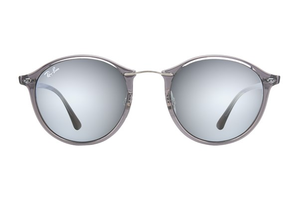 Ray-Ban® RB4242 Mirror Sunglasses - Gray