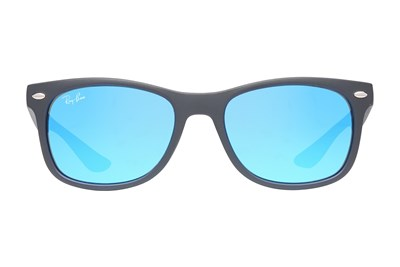 Ray-Ban® Youth RJ9052S New Wayfarer Junior Mirror Black