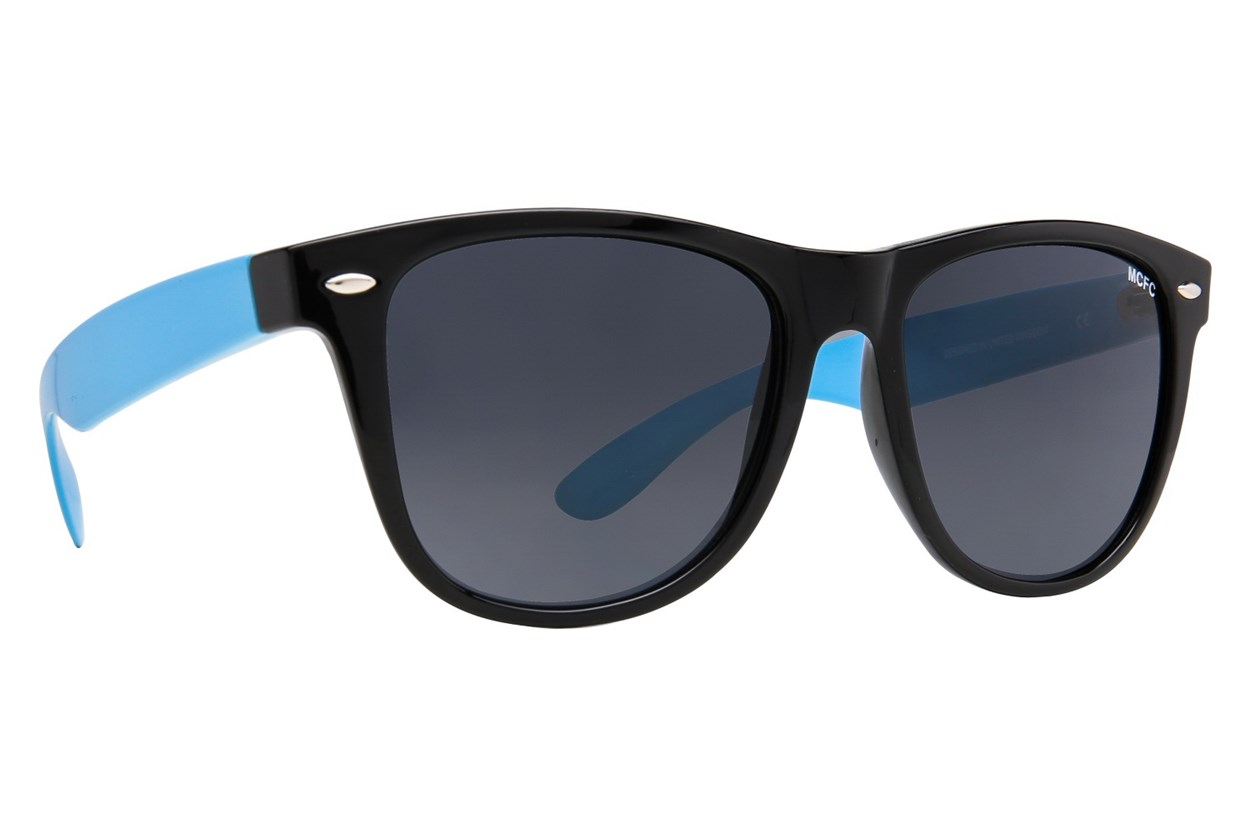 Fan Frames Manchester City FC - Retro Sun Black Sunglasses