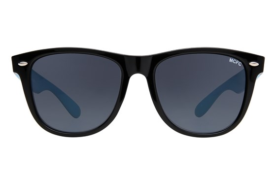 Fan Frames Manchester City FC - Retro Sun Black Sunglasses
