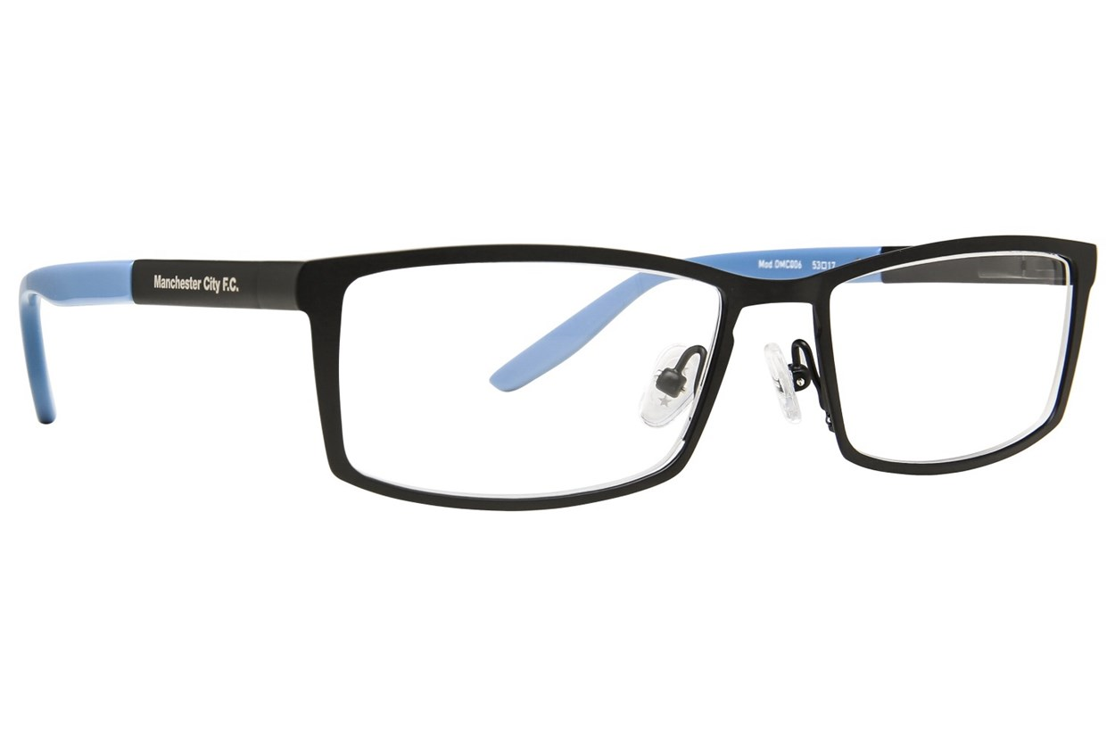 Fan Frames Manchester City FC - Metal Eyeglasses - Black