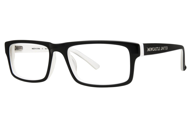 Vintage Eyeglass Frames Prescription Lenses : Fan Frames Newcastle United - Retro Prescription ...