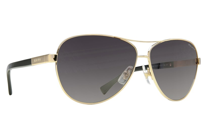 Gold/Black/Gray Gradient Polarized