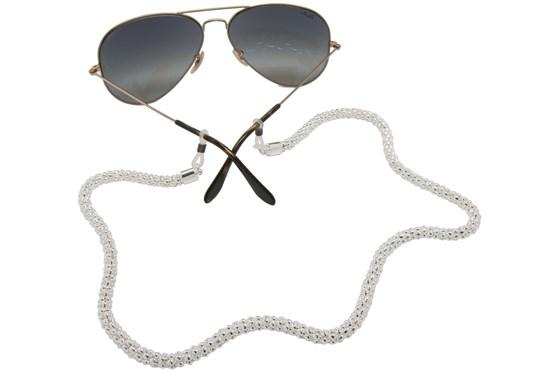 Sintillia Glow Chain Strap Silver GlassesChainsStraps