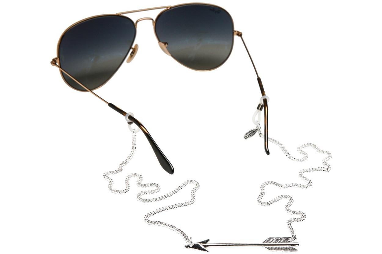 Sintillia Arrow Backlace Strap Silver GlassesChainsStraps