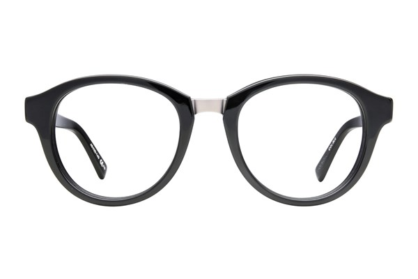 Von Zipper Puff Piece Eyeglasses - Black