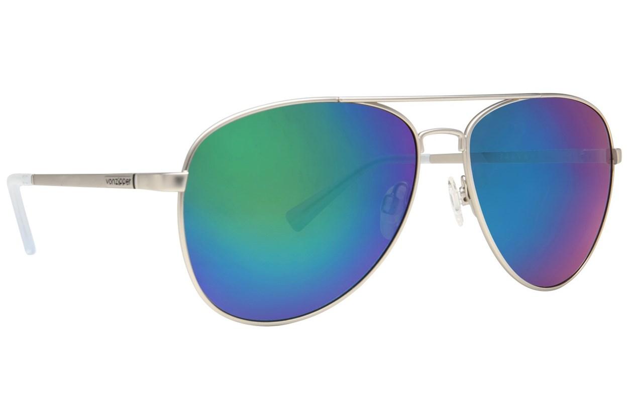 Von Zipper Farva Silver Sunglasses