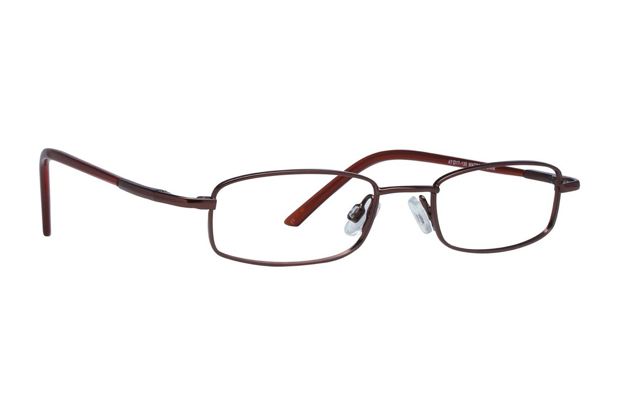 Arlington AR1001 Brown Eyeglasses