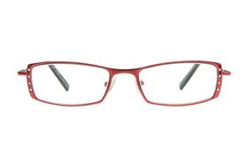 CalOptix Elle Reading Glasses Red