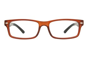 CalOptix Atom Reading Glasses Brown