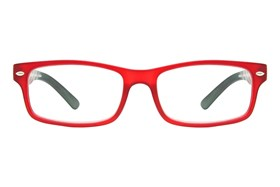 CalOptix Atom Reading Glasses Red