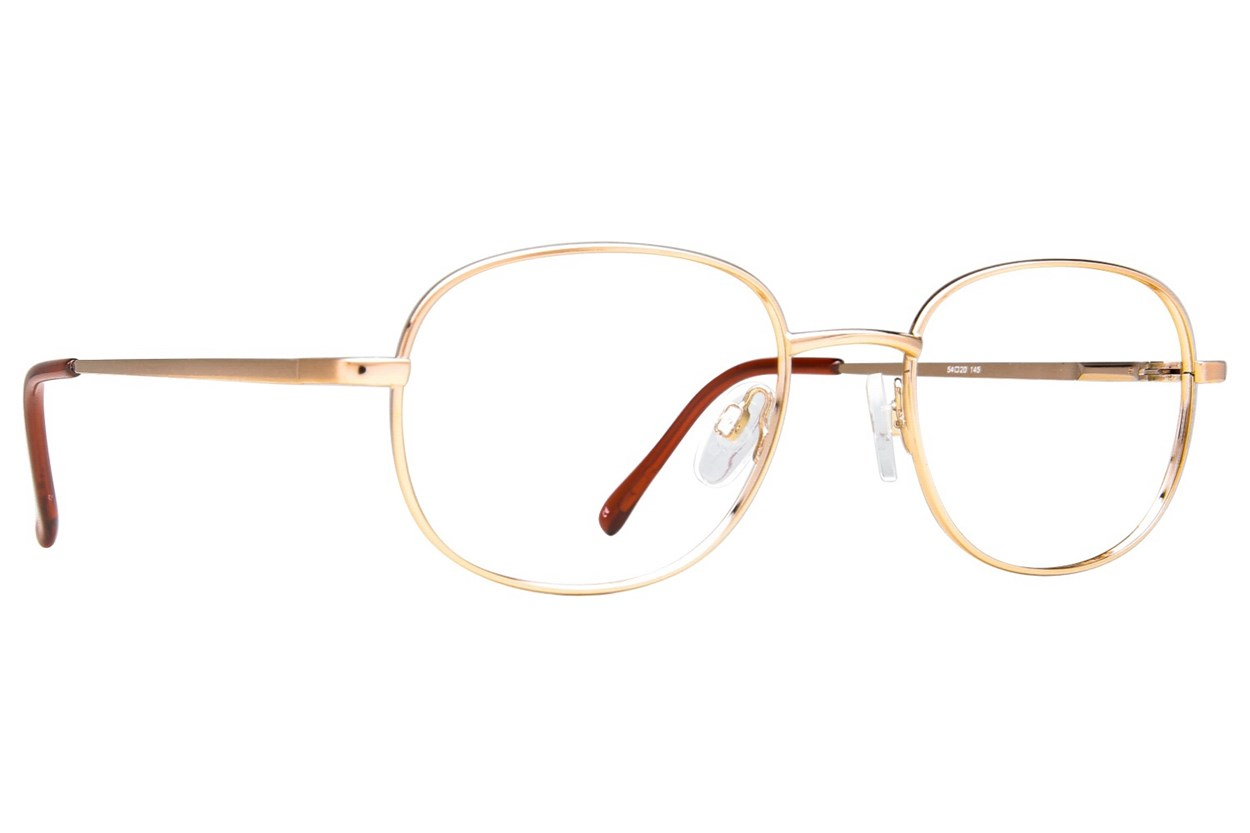 Arlington AR1011 Gold Eyeglasses