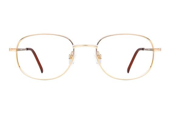 Arlington AR1011 Gold Eyeglasses