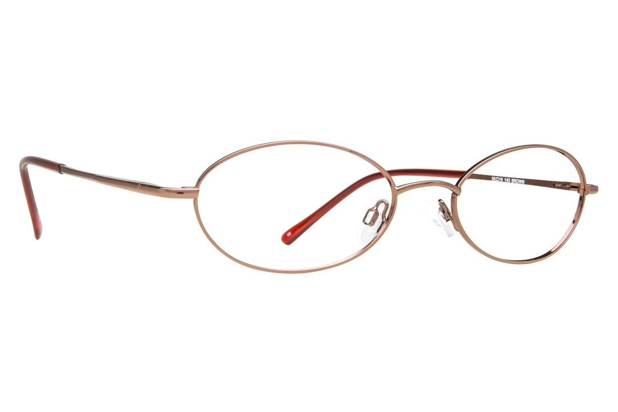 Arlington AR1021 Brown Eyeglasses