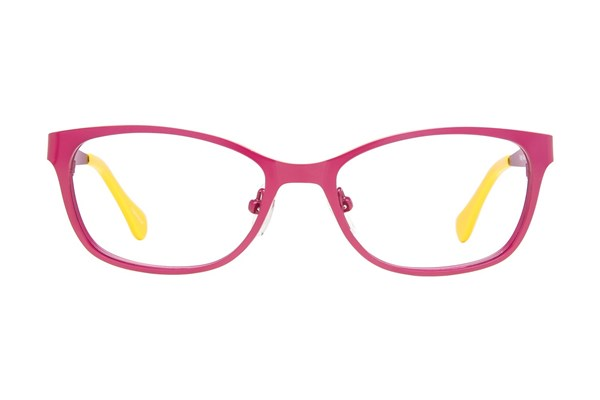 Picklez Fluffy Eyeglasses - Wine
