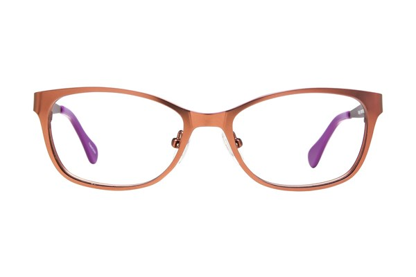 Picklez Fluffy Brown Eyeglasses