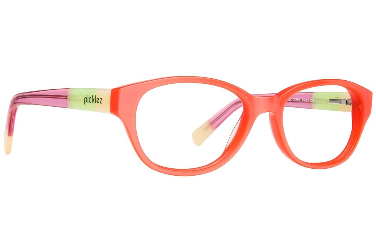 Picklez Buddy Orange Eyeglasses