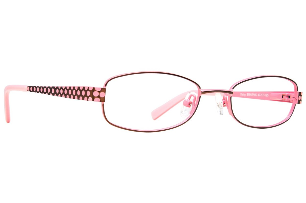 Picklez Daisy Brown Eyeglasses