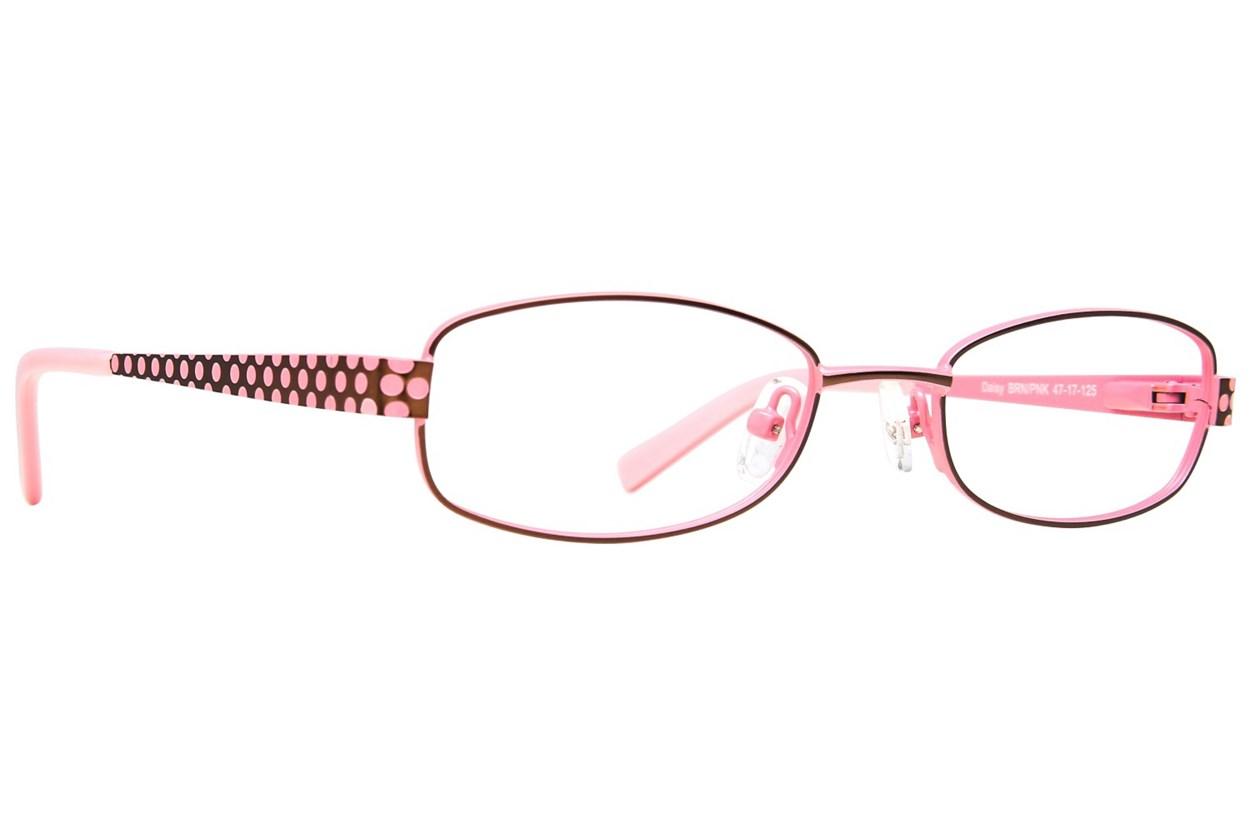 Picklez Daisy Brown Eyeglasses