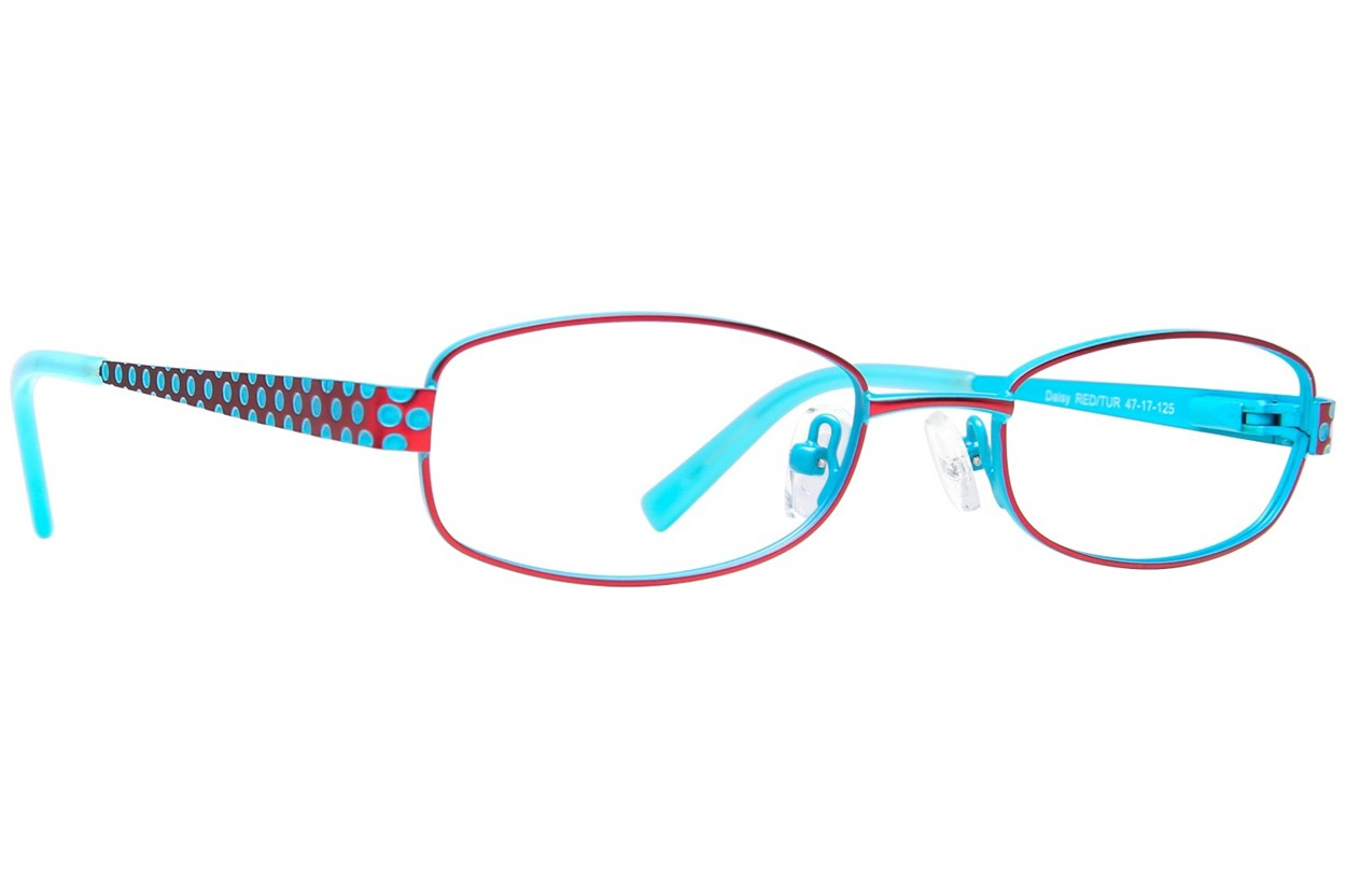 Picklez Daisy Red Eyeglasses