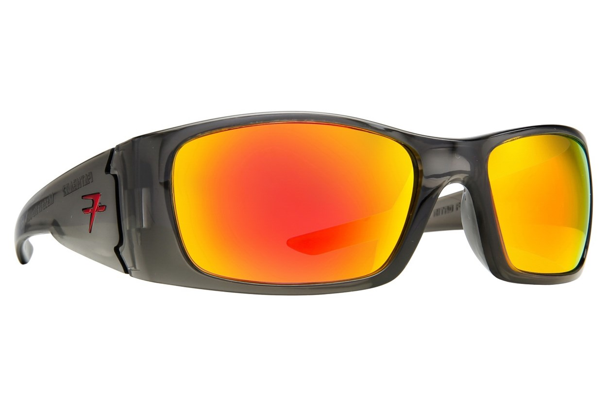 Fatheadz Black Nitro Gray Sunglasses