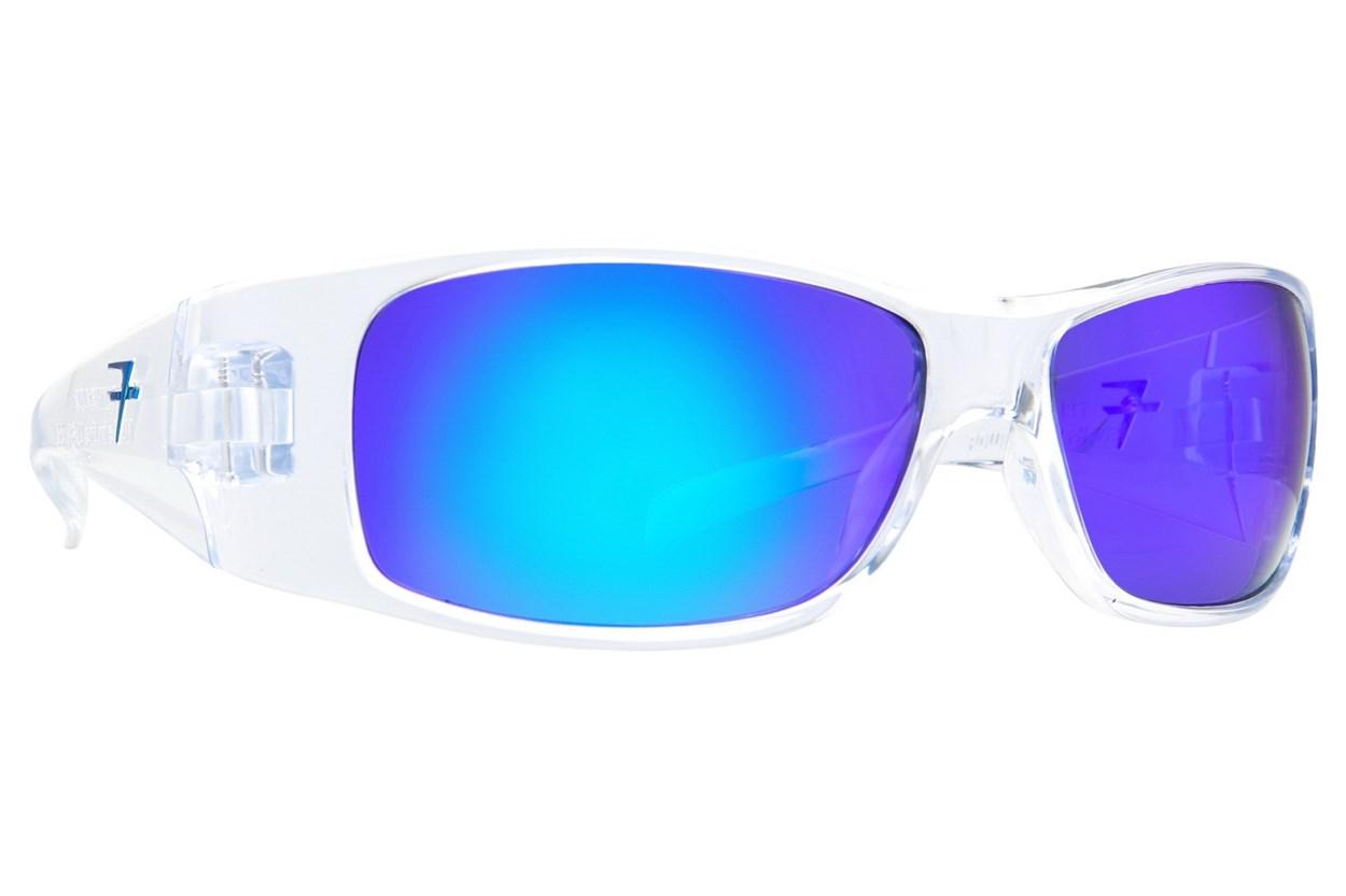 Fatheadz Power Trip Clear Sunglasses