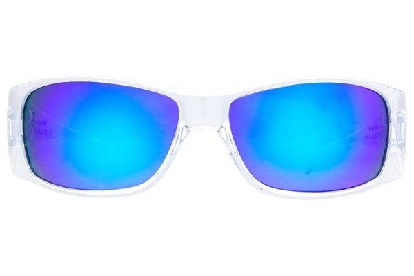 Fatheadz Power Trip Clear Sunglasses